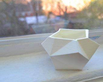 3D Printed Geometric Planter