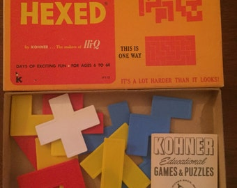 "Vintage Puzzle Game ""Hexed"""