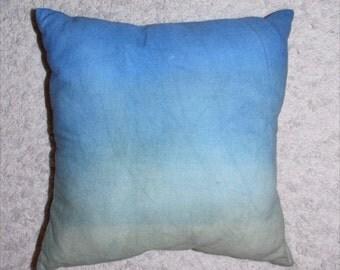 Blue/Green Dip Dye