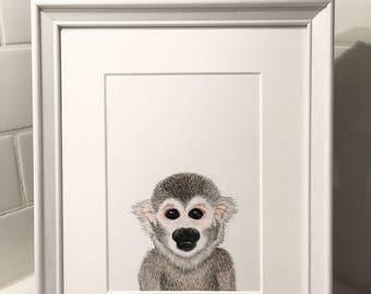 Monkey - Art Print