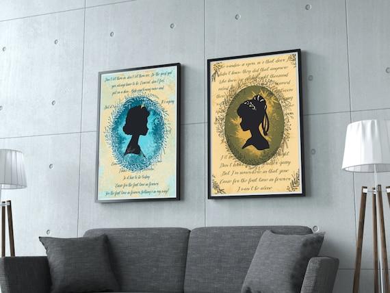 Disney, Frozen Pack. Anna&Elsa. For the first time in forever. Digital Art, Instant Download, Printable Art, frozen print, disney nursery