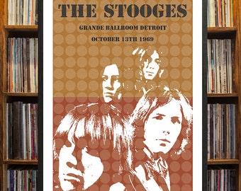 Stooges/ Iggy Pop Concert Poster
