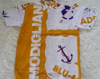 Vtg Shirt Modiglani Italia