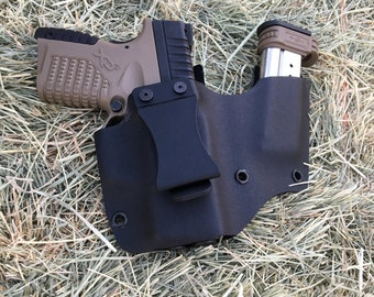 XDs 3.3 .45 IWB + Mag Kydex Holster