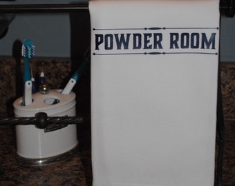 Powder Room Tea Towel