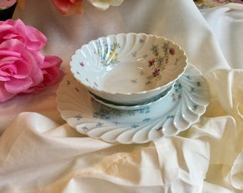 "Vintage Haviland Limoges ""Tout Venant"" china pieces"