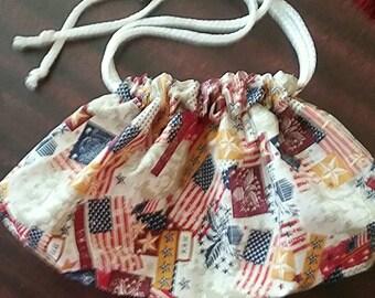 Large Drawstring bag- Americana II