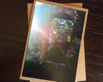Handmade Photo Card - Ruins - JGP20