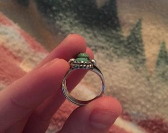 Multi stone turquoise ring