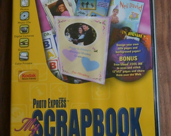 Ulead Photo Express, Version 4.0, My Scrapbook Edition [Cd-Rom] PC Software