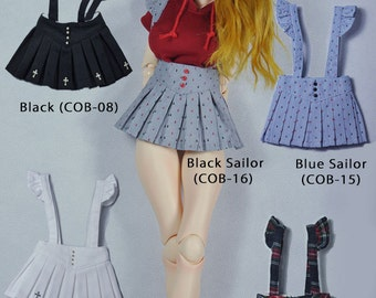 CODENOiR - Jumper Skirt BJD clothes msd / Slimi msd / mdd / angel philia / 1/4 BJD