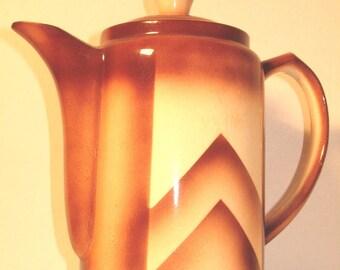 """Vintage 1930s """"Bunzlau ceramics"""", art deco"""
