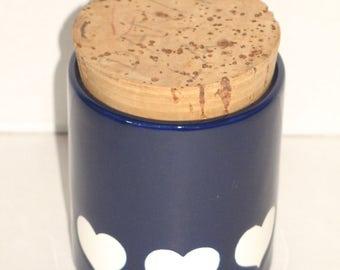 Vintage 70s ceramic tin from WÄCHTERSBACH