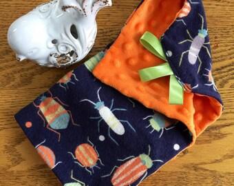 Bug Minky Lovey Baby Blanket