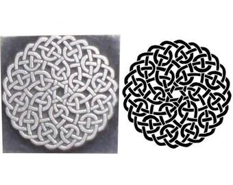 celtic knotwork stamp,history inspired printing stamp