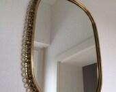 Mirror brass Josef Frank 50s
