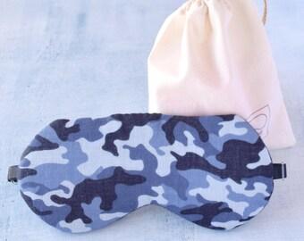 Camouflage/eye mask /free bag/trip/sleep mask/gift