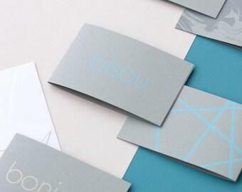 1 mini dual card + envelope - 1 small card + envelope