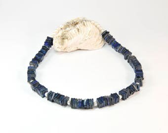 Boho Andalusia * Short Boho Necklace. Boho Jewelry. Boho Style. Bohemian Necklace. Ideas for her. Lapis Lazouli. Pearls