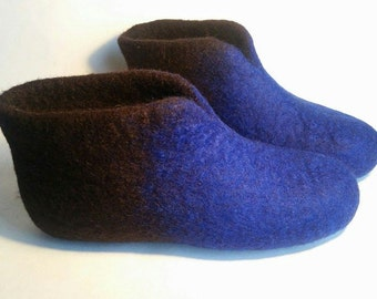 Felt slippers, Felted shoes, House shoes, Felted boots, Handmade shoes, wool slipers, Slippers, wool slippers, Felt wool slippers