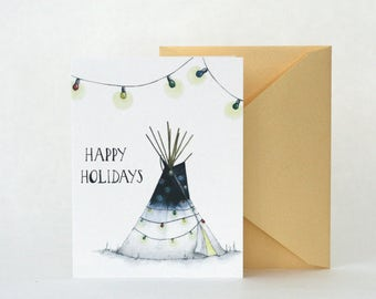 "HOLIDAY TEEPEE ""Color""  