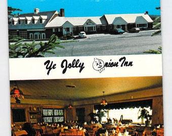 Pine Island, New York, NY, Ye Jolly Onion Inn, Motel Vintage Postcard, Inv1682,