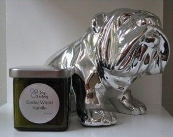 Soy Candle - Cedarwood Vanilla - 8oz