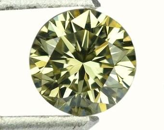 0.55 Ctw Breath Taking Round Finest Clarity Spark Natural Diamond