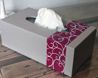 "Tissue Box ""Arabesques"""