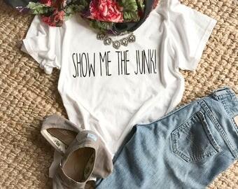 Show Me The Junk! T-Shirt