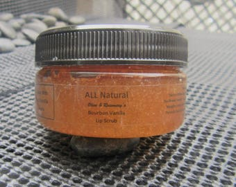 Bourbon Vanilla Lip Scrub (2 oz jar)