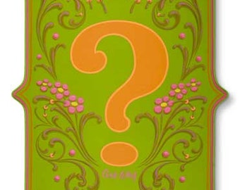 Ask Why - Poster - Sign painting, fileteado