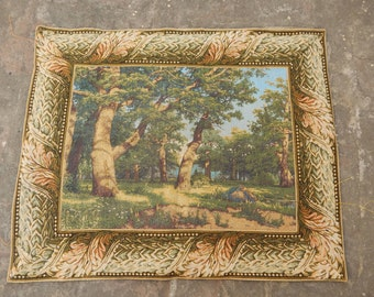 Vintage French Beautiful Tapestry 0527