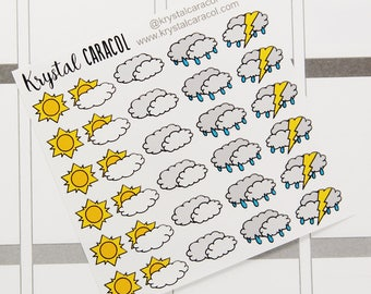 Weather Icon Stickers