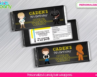 Star Wars Print Yourself Candy Wrappers