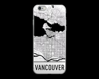 Vancouver iPhone Case, Vancouver Phone Case, iPhone Vancouver , Vancouver BC Phone Case, Vancouver iPhone 5 Case, iPhone 6, Art, Gift