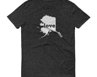 Alaska Shirt, Alaska TShirt, Alaska Love Shirt, Alaska Tee, State Pride, Alaska Gifts, Alaska State, Alaska Map, Shirt, TShirt, Tee, AK