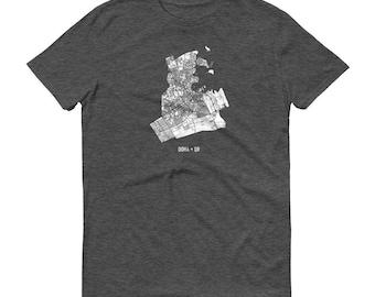 Doha Shirt, Doha, Qatar, Doha TShirt, Doha Gift, Doha Tee, Doha Map, Qatar Shirt, Qatar Map, Doha Art, Qatari Shirt, Qatar Gifts, Qatar Art