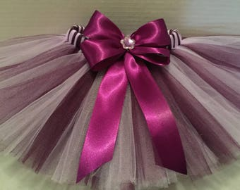PLUM AND LAVENDER Tutu, Plum Tutu, Lavender Tutu, Birthday Tutu, Infant Tutu, Tutu for Babies, Newborn Tutu, 0-18 Month Tutu, Purple Tutu