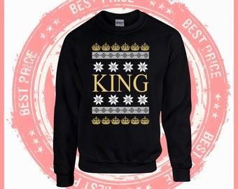 On Sale Today Merry Christmas king sweater- Ugly Christmas sweater-Merry Christmas sweater-Hotline bling-drake-ugly sweater party