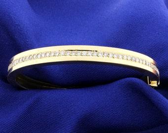 2 ct. Diamond Bangle Bracelet