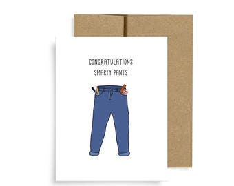 Graduation Card, Smarty Pants