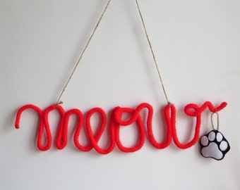 Wool felt letters etsy for Wool felt letters