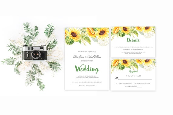 Floral wedding invite word_63,INSTANT DOWNLOAD, Editable Wedding template invitation. Microsoft Word template.Wedding Printable