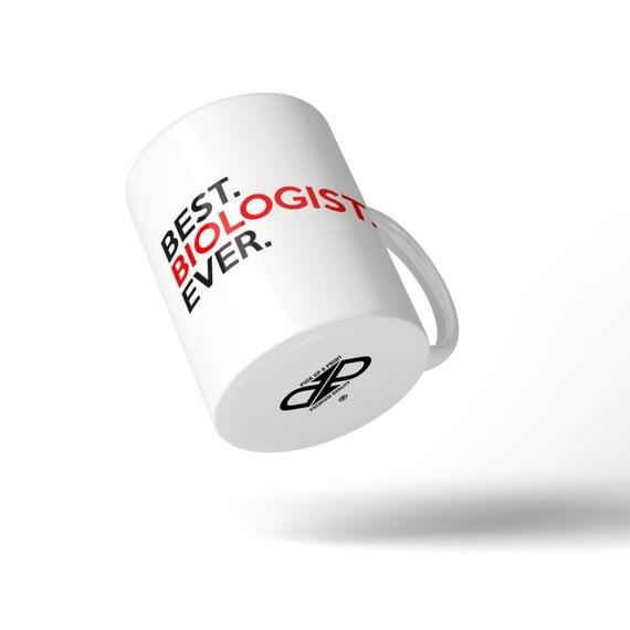 Best Biologist Ever Mug - Great Gift Idea Stocking Filler