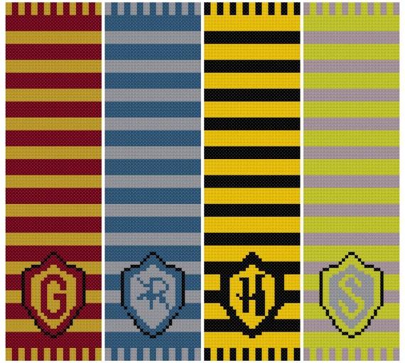 Harry Potter Bookmark Cross Stitch Pattern Harry Potter
