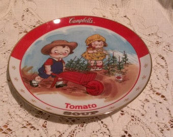 Campbell's Kids Collectors Plate