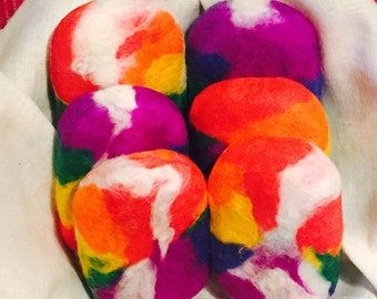 Single Rainbow Wrapped Soap 12oz