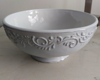 Small 10in White Traditional Antique Modern Contemporary Ceramic Porcelain  Bathroom Vessel Sink