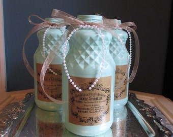 French Country Recycled Glass / Home Decor / Gift